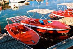 Red boats (mkk707) Tags: film analog wwwmeinfilmlabde leicaflexsl2 summicronr50mm itsaleica 35mmfilm manualfocuslens vintagelens vintagefilmcamera germancameras germany