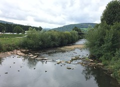 River Monnow, Monmouth (theo.morgan) Tags: monmouth wales britain monmouthshire town river monnow