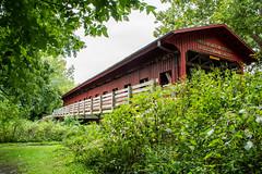 Faux Covered Bridge (ryancondronphotography) Tags: mohamet coveredbridge illinois champaigncounty places bridge structure lakeofthewoods mahomet unitedstates us