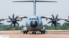 Airbus A400M (M J Robinson Photography) Tags: 2018 arrivals riat royalinternationalairtattoo raf fairford thursday germany german air force luftwaffe airbus a400m 5410 transport plane aviation photography nikon d7100 nikond7100