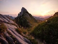 La Gruyère - Jaun / Ref.02361 (FRIBOURG REGION) Tags: suisse switzerland schweiz fribourgregion fribourgrégion lagruyère jaun grandtourdesvanils été sommer summer préalpes voralpen prealps alpes alpen alps montagne mountains berge colduloup leverdesoleil sunrise sky himmel ciel sonnenaufgang