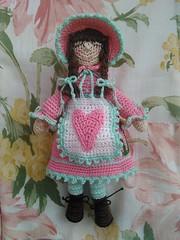 Little amigurumi doll.  Made by me. (Dr.Glen2011) Tags: amigurumi amigurumidoll crochet doll madebyme handmade muñeca muñecatejida