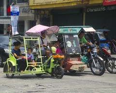 Ready For The Off (Beegee49) Tags: street tricycles motor bukes public transport bacolod city philippines