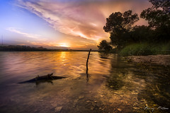 BEMEZPICTURES-12 (Bertrand Mézino) Tags: instagood landscape sunset lake reflection reflexion tree nature cloud sky waterscape
