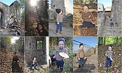 Emil auf der Ritterburg Hauneck (Uli He - Fotofee) Tags: ulrike ulrikehe uli ulihe ulrikehergert hergert nikon nikond90 fotofee