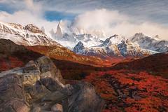 La Mirador (Eddie 11uisma) Tags: patagonia argentina los glaciares national park fall autumn