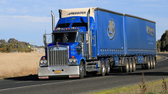 Hume/Olympic Mix (3/10) (Jungle Jack Movements (ferroequinologist)) Tags: daf kenworth international hume highway olympic way ettamogah albury hackett transport warragul coregas ats australian touring services jack daniels monahahn logistics mildura milperra bonaccord qualirty bairnsdale horsepower big rig haul haulage freight cabover trucker drive carry delivery bulk lorry hgv wagon road nose semi trailer cargo vehicle freighter ship move power teamster truck tractor prime mover diesel driver cab cabin loud beast wheel double b iveco bobbins pambula black trans mcgrorys grice bowens