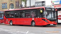 P1130270 1292 YX68 UJK at Mile End Station Grove Road Mile End London (LJ61 GXN (was LK60 HPJ)) Tags: ctplus hackneycommunitytransportgroup enviro200 enviro200d e200d enviro200mmc enviro200dmmc mmc majormodelchange 109m 10870mm 1292 yx68ujk h29710