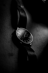 Dark side of the time (rrichrd1) Tags: black white nikon d5600 watch