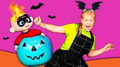Vampirina Assistant is visited by 3 Spooky Ghosts with Mickey Mouse and Incredibles (benhxuongkhopvn) Tags: children familychannel familyfun familyfunforeveryone kid tefkids tefk theengineeringfamily toy