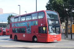 TT DN33794 @ Stratford bus station (ianjpoole) Tags: tower transit alexander dennis enviro 400 sn13chg dn33794 working route 25 holles street oxford circus hainault ilford