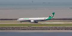 EVA AIR A330-300 B-16337 004 (A.S. Kevin N.V.M.M. Chung) Tags: aviation aircraft aeroplane airport airlines a330 plane spotting macauinternationalairport mfm a330300 airbus runway
