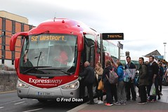 Bus Eireann SP109 (08D23989). (Fred Dean Jnr) Tags: galway july2016 buseireann buseireannroute52 expressway scania irizar pb sp109 08d23989 galwaybusstation