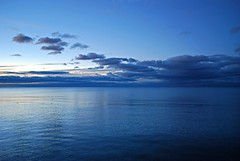 Scarborough blue hour (Pwern2) Tags: sunrise sun bluehour lakeontario ontario lake greatlakes freshwater blue clouds sky canada canadian scarborough the6 to toronto scarboroughbluffs water nature landscape rougeriver highlandcreek