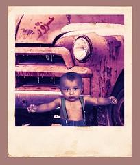 azooz (abdullahsaphoto) Tags: old history car boy muscle strong photoshop photography photo portraitphotography portrait garage street nikond850 85mm