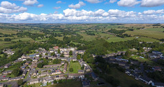 Allendale From The Air (Jamesylittle) Tags: drone dji summer phantom 4 four aonb pennies north east rural