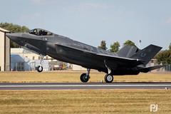 USAF F-35A Lightning II (philrdjones) Tags: 2018 70300mm 7dmkii aircraft airshow canon dslr egva f35 f35a ffd fairford fighter jsf jointstrikefighter july lens lightningii lockheedmartin raffairford riat royalinternationalairtattoo usaf unitedstatesairforce