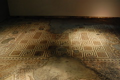 Roman Mosaics at Chedworth Villa - 4 (basswulf) Tags: d40 1855mmf3556g lenstagged unmodified 32 image:ratio=32 permissions:licence=c 20160720 201607 3008x2000 chedworth chedworthromanvilla nationaltrust mosaic roman gloucestershire england uk