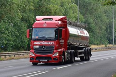 KX15 YSZ (Martin's Online Photography) Tags: mercedes actros mp4 truck wagon lorry commercial transport vehicle a63 everthorpe eastyorkshire nikon nikond7200