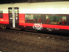 Rolling (Lackdosetoleranz) Tags: wien vienna lackdosetoleranz graffiti tags writingonthetrain zug train rolling rollt fährt traffic knall chose cityjet