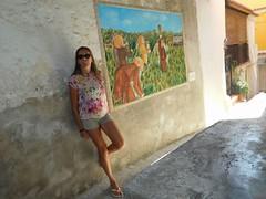 Hanging the wall (hantomax) Tags: sannicolaarcella calabria murales