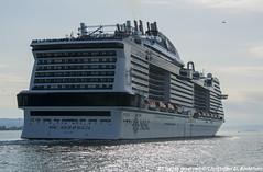 MSC Meraviglia (33) (Christoffer Andersen) Tags: msccruises msc mscmeraviglia portofoslo oslo oslofjorden passengership passengervessel cruiseship cruise
