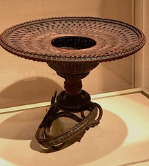 Flower Basket (Hanakago) in the Shape of a Flower_Meiji period (1868–1912)_mid-19th century_Timber bamboo, dwarf bamboo, and rattan (Hiero_C) Tags: metropolitanmuseum japaneseart japan bamboo basket metropolitanmuseumofart