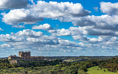 Dover Castle in the Clouds (RevCheck Photography) Tags: dover castle fortress history historic building colous sky clouds outdoor outside tree trees landscape green blue red canon 6d eos ef24105mm f4l is usm