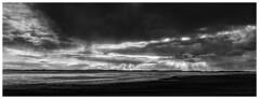 Sunrise (Wayne Interessiert's) Tags: sylt landscape paysage wolken clouds nuages sky ciel monochrome bw blackwhite noirblancphoto coast cotê sea mer insel island île
