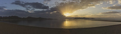 Mallorca (September 2018 #2) (Explored) (Lazlo Woodbine) Tags: mallorca majorca panoramic panorama pano stitch sony a6000 1650mm 2018 september holiday holidaysnap sea seascape seaside sun sunrays sunrise mountain mountains landscape sky clouds rays spain peurtopollensa pollensa
