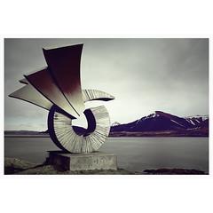 REMEMBERING ICELAND # 2 (bruXella & bruXellus) Tags: bogarnes brákinmonument þorgerðurbrák brákin viking iceland island islande landscape landschaft paysage