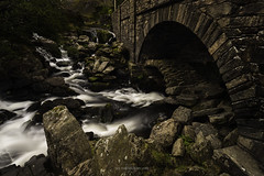 Ogwen-Bridge-Waterfall (See-Through-My-Lens) Tags: wales ogwen waterfall rugged hard rocks bridge canon manfrotto leefilters ngc
