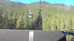 Banff Gondola Ride Up Sulphur Mountain (lhboudreau) Tags: banffgondola gondola banff canada alberta ride sulphurmountain bowvalley video videos mountain mountains canadianrockies rockymountains rockies valley forest tree trees pinetree pinetrees pine pines mountainside climb
