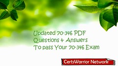Upgrade Microsoft 70-346 Dumps – Free PDF for 70-346 Exam 2018 (antoniophammond) Tags: 70346 education exam examdumps test certifications certswarrior vce braindumps material guides pdf dumps 2018 microsoft