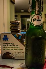 2018 - photo 263 of 365 - cookies & beer (old_hippy1948) Tags: cookies girlguide beer grolsch