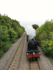 The Flying Scotsman (joynson83) Tags: flyingscotsman theflyingscotsman steamtrain locomotive locomotives steamengine mostyn walescoastpath wales northwales