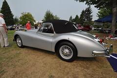 1956 Jaguar XK-140 (4) (Gearhead Photos) Tags: jaguar e type mga mgb mgtc mgc gt english cars british delorean mgf xk xj xjs xf v8 ford cortina austin healey morgan plus 4 convertible 120 140 150 waterfront park north vancouver bc canada