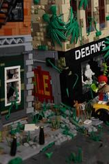 Pavement (Jan, The Creator) Tags: lego apocalyptic apocalypse apoc postapoc nuke new york scene clownpoc clown brickbuilt