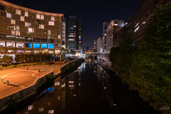 City Canal (justin saunders) Tags: canal urban city nightphotography longexposure explore street lights water reflections peaceful living lifesytle building sky tree river bridge d850 tamron1530 tamron 1530