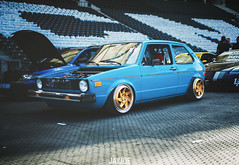 XS CARNIGHT 2018 (JAYJOE.MEDIA) Tags: vw golf mk1 low lower lowered lowlife stance stanced bagged airride static slammed wheelwhore fitment rad48
