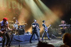 The Damned, Southampton Guildhall 22-08-2018 069 (Matt_Rayner) Tags: southamptonguildhall live punk concert thedamned captainsensible guitar davidvanian vocals pinch drummer paulgray bass