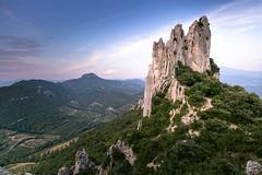 Dentelles (MB*photo) Tags: france provence vaucluse été dentellesdemontmirail wwwifmbch montagne randonnée