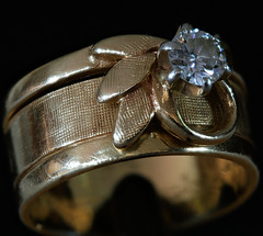 Diamond Ring (Stanley Wood) Tags: macromondays definingbeauty diamond ring marriage love
