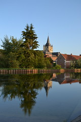 Cappy France (picrama) Tags: saint nicolas church somme canal france cappy