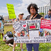 Anti-Violence Protesters Attempt to March on the I-90 Expressway Park Ridge Illinois 9-3-18 3550