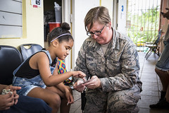 Massachusetts National Guard (The National Guard) Tags: airnationalguard ang irt airguardirt navyreserve puertorico medical humanitarian joint catano pr innovative readiness training ola de esperanza sanadora child children kids community ng nationalguard national guard guardsman guardsmen soldiers soldier airmen airman us army air force united states america usa military troops 2018