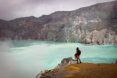 Java, Volcan Kawah Ijen (Calinore) Tags: indonesia java volcankawahijen minedesouffre indonésie lake lacdacide