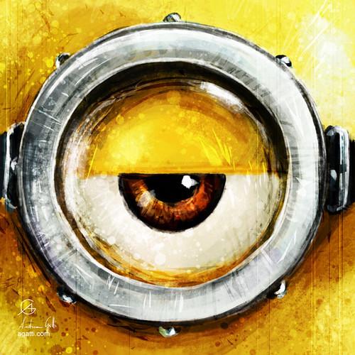 minion eye center