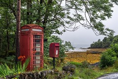 Oldskool communication in Scotland