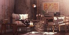 N°1349 - Nothing Like Home ♥ (Rina Edenflower) Tags: trompeloeil secondspaces tarte madras jian wednesday kalopsia halfdeer collabor88 fameshed thearcade secondlife